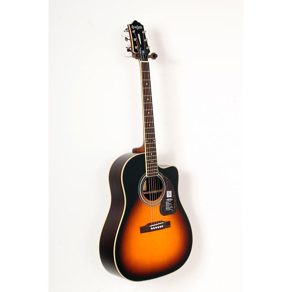 epiphone masterbilt aj 500rce acoustic elec guitar vintage sunburst 888365804347 ebay. Black Bedroom Furniture Sets. Home Design Ideas