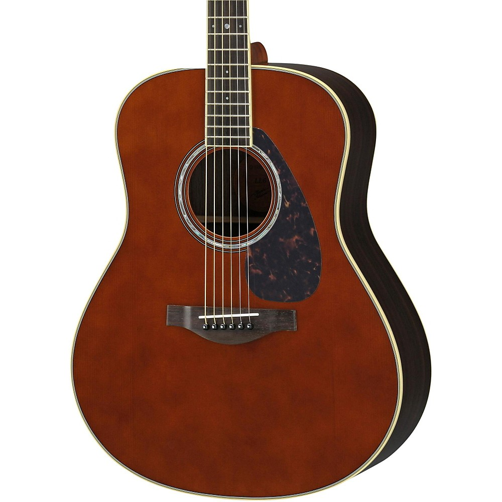 Yamaha ll6r l rosewood spruce dreadnought acoustic for Yamaha acoustic guitar ebay