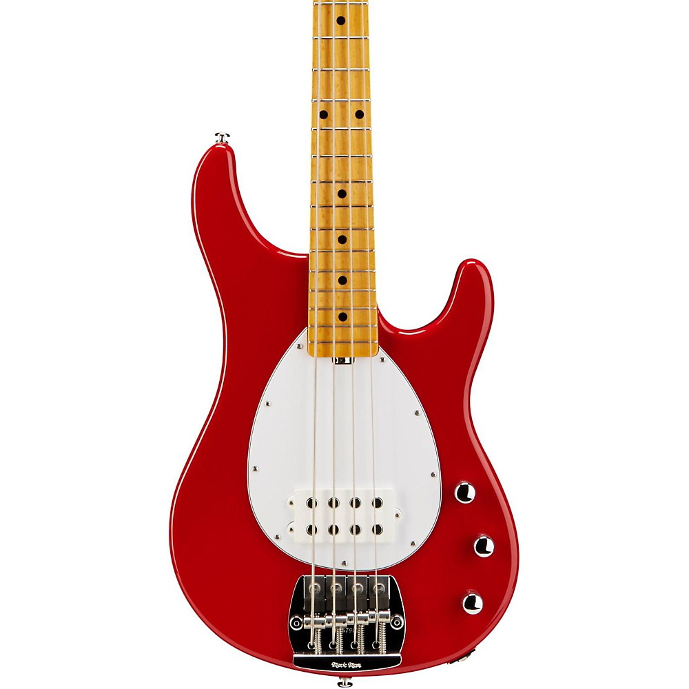 Music Man Classic Sterling Electric Bass Guitar Classic Red