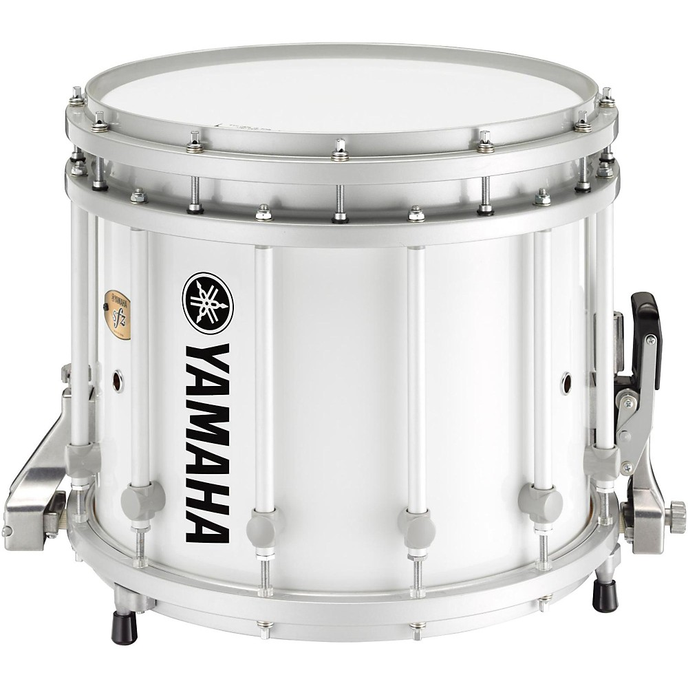 Yamaha SFZ Marching Snare Drum 14x12 Inch White With ...