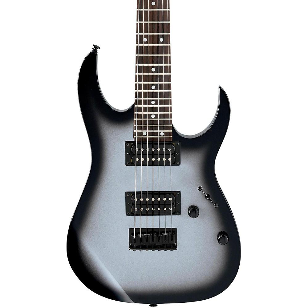 ibanez grg7221 7 string electric guitar metallic silver sunburst ebay. Black Bedroom Furniture Sets. Home Design Ideas