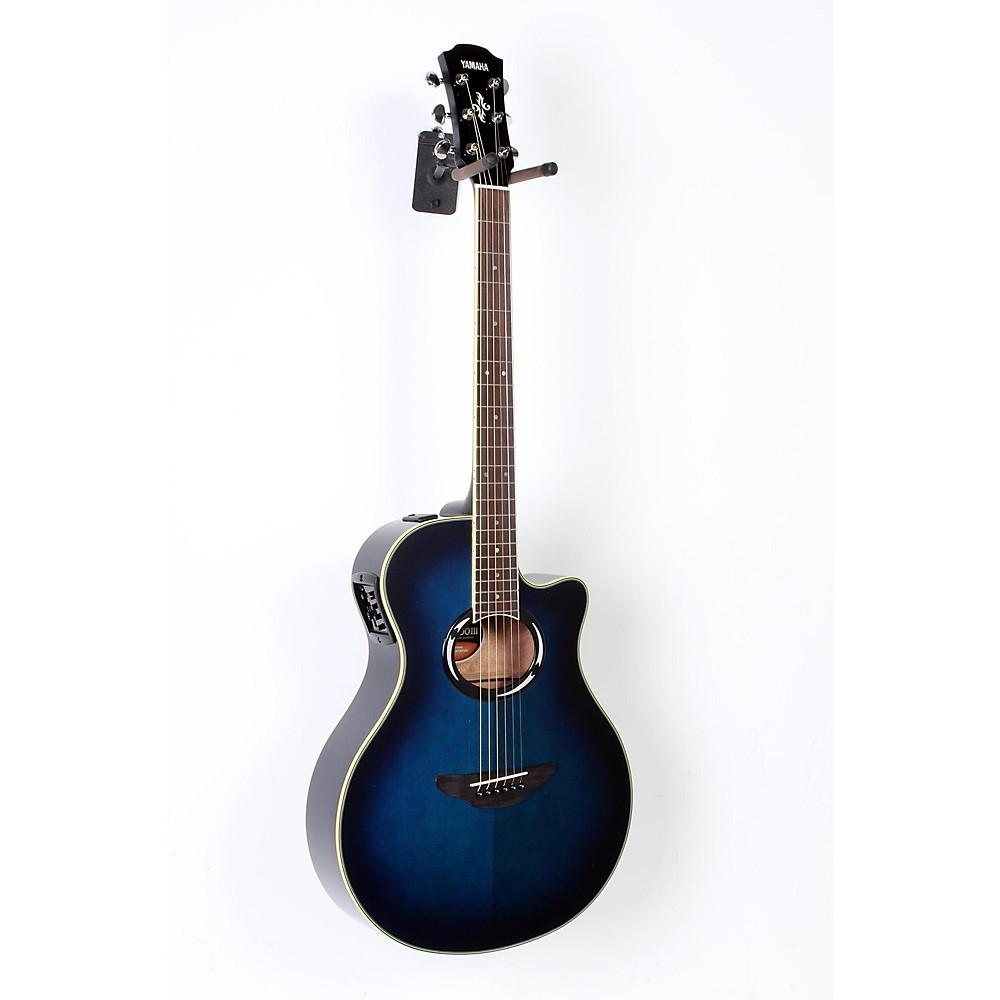 yamaha apx500iii thinline cutaway a e guitar oriental blue burst 190839045768 ebay. Black Bedroom Furniture Sets. Home Design Ideas