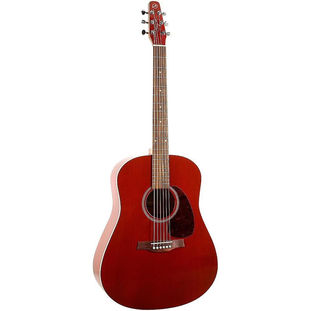 seagull s6 cedar acoustic electric guitar red ebay. Black Bedroom Furniture Sets. Home Design Ideas