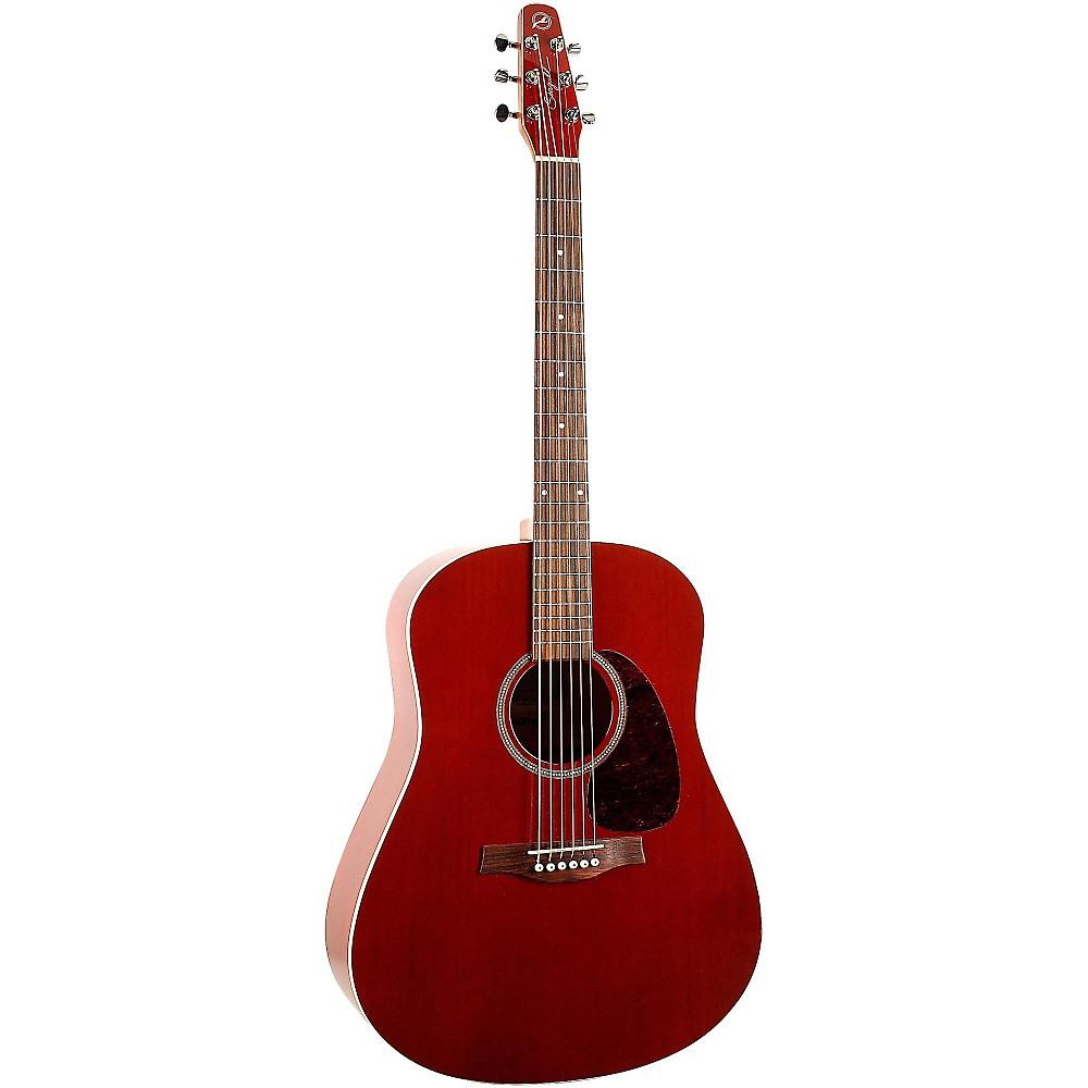 seagull s6 cedar acoustic guitar red ebay. Black Bedroom Furniture Sets. Home Design Ideas
