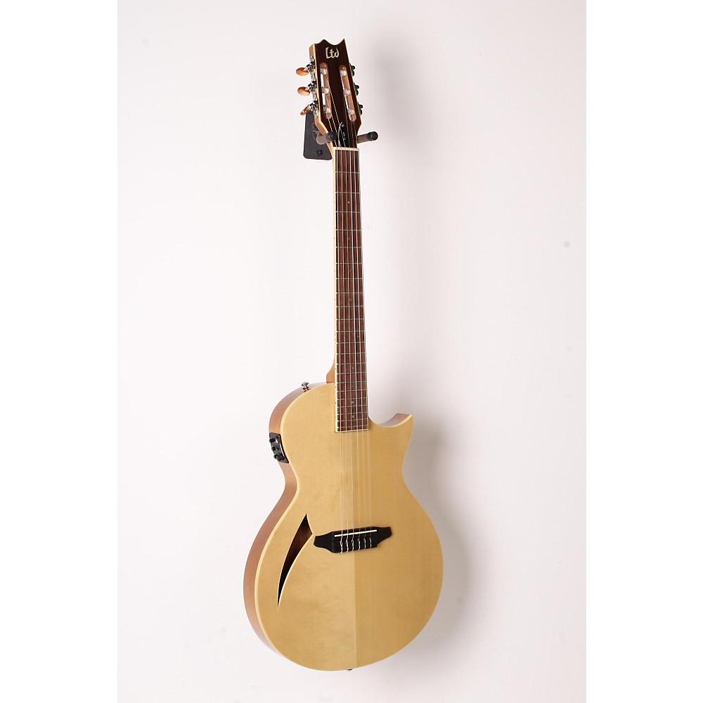 esp ltd tl 6n thinline nylon string acoustic electric guitar naturl 888365842776 ebay. Black Bedroom Furniture Sets. Home Design Ideas