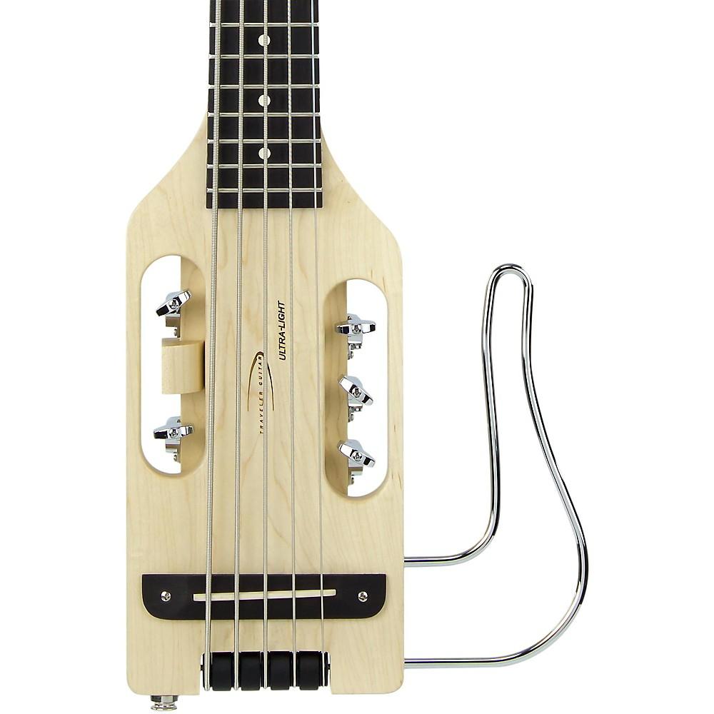 traveler guitar ultra light 5 string acoustic electric travel bass guitar naturl ebay. Black Bedroom Furniture Sets. Home Design Ideas