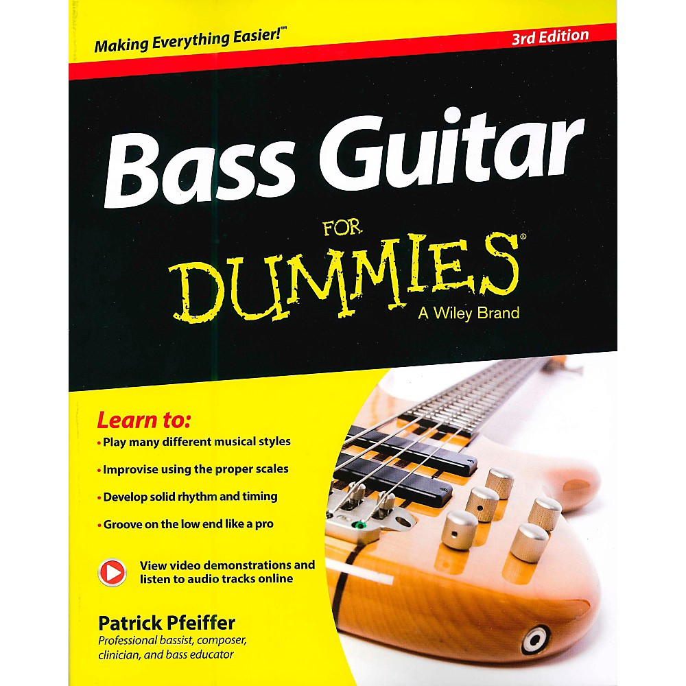 Mel Bay Bass Guitar for Dummies 3rd Edition Book/CD Set