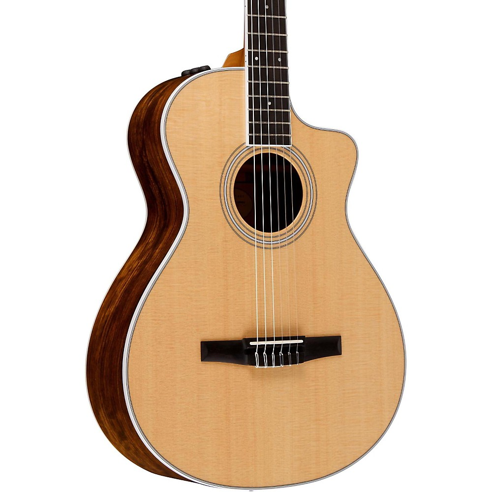 taylor 412ce n cutaway grand concert nylon string acoustic electric guitar ebay. Black Bedroom Furniture Sets. Home Design Ideas