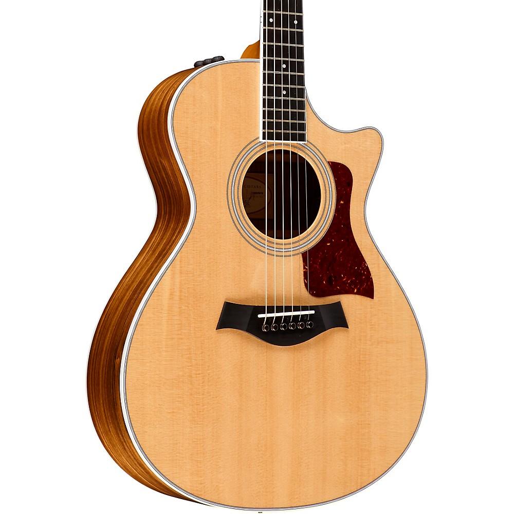 taylor 412ce cutaway grand concert acoustic electric guitar natural ebay. Black Bedroom Furniture Sets. Home Design Ideas