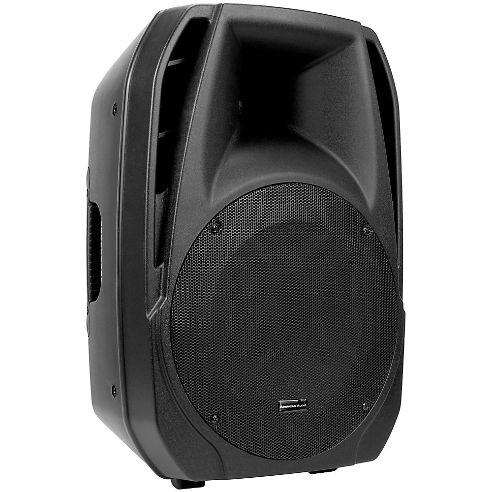 american audio kpow15a 15 powered 2 way speaker ebay. Black Bedroom Furniture Sets. Home Design Ideas
