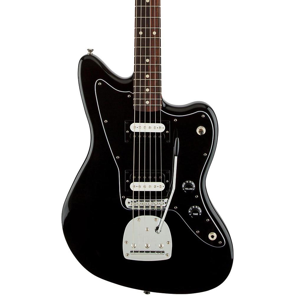 fender standard jazzmaster hh rosewood fingerboard electric guitar black ebay. Black Bedroom Furniture Sets. Home Design Ideas