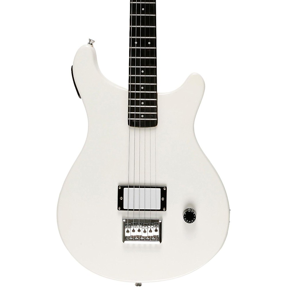 fretlight fg 5 electric guitar with built in lighted learning system white ebay. Black Bedroom Furniture Sets. Home Design Ideas