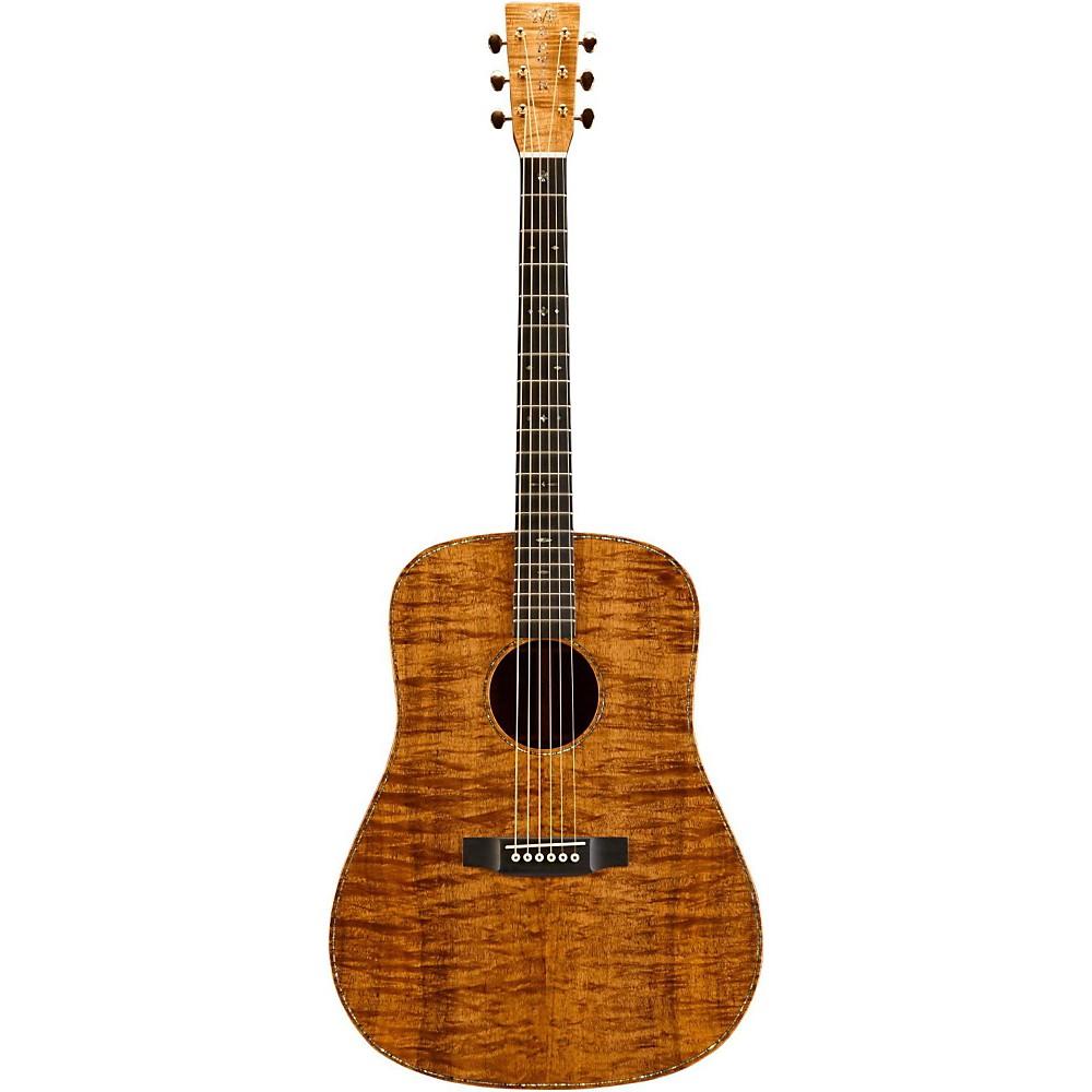 martin custom koa d 41 dreadnought acoustic guitar natural ebay. Black Bedroom Furniture Sets. Home Design Ideas