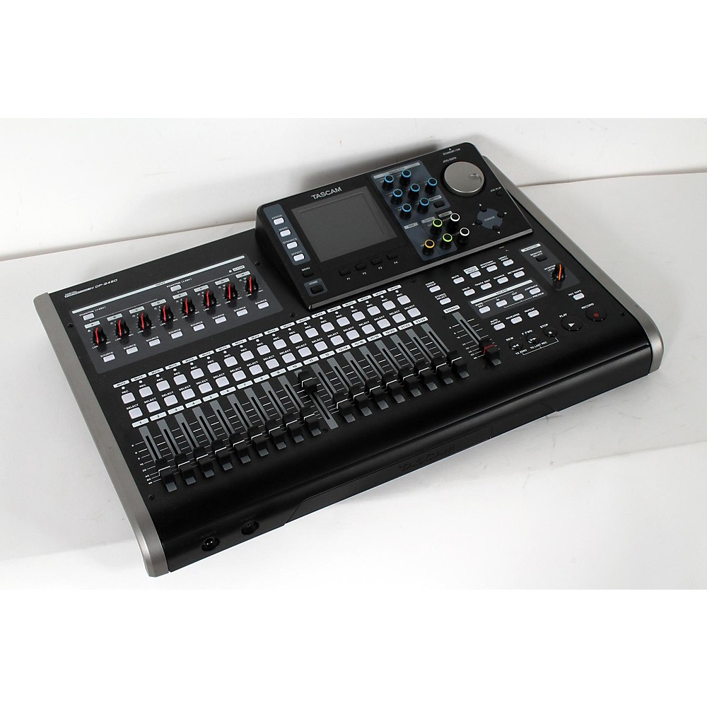 Used Tascam Dp-24Sd 24-Track Digital Portastudio  888365997209 -  USED005010 DP-24SD