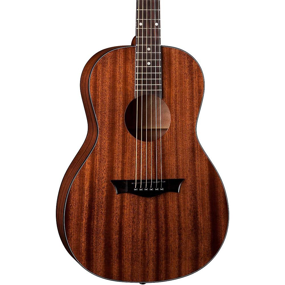 Mahogany Wood Guitar ~ Dean axs parlor acoustic guitar mahogany ebay