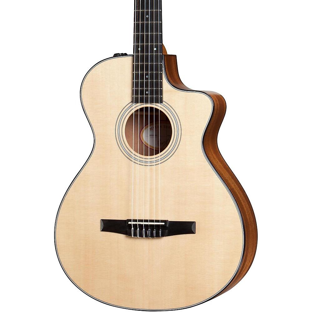 taylor nylon string guitar lookup beforebuying. Black Bedroom Furniture Sets. Home Design Ideas