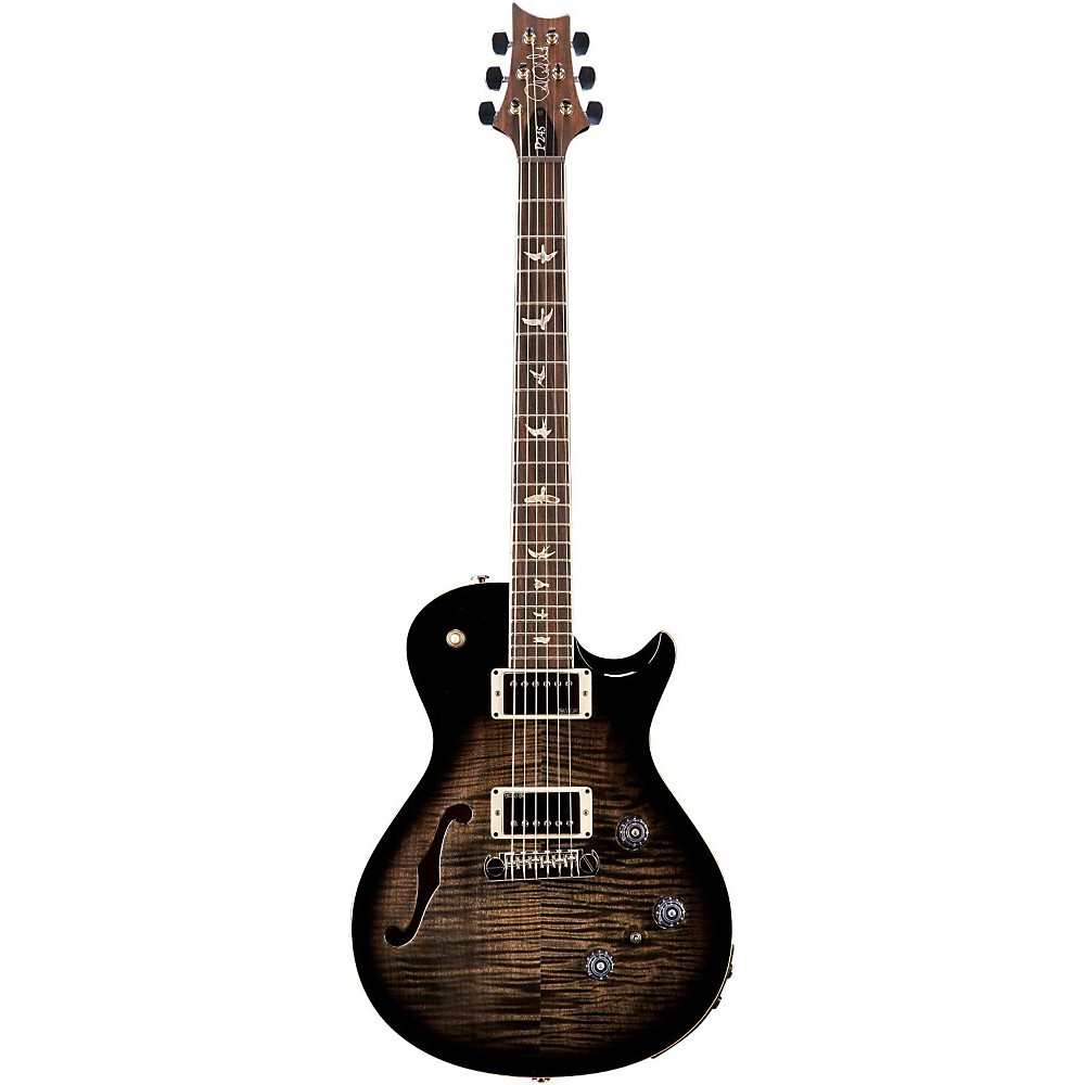 prs p245 semi hollow electric guitar charcoal burst ebay. Black Bedroom Furniture Sets. Home Design Ideas