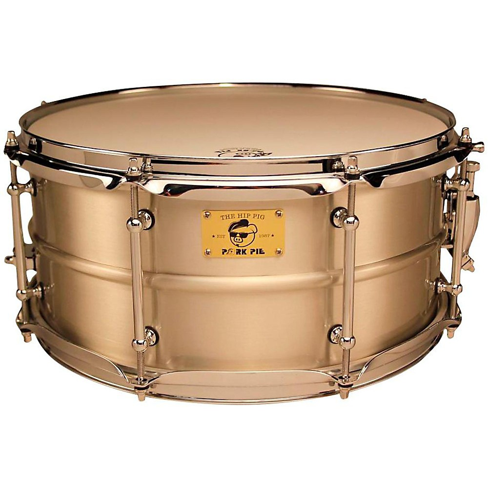 Pork Pie Snare Drum : pork pie pig iron snare drum 14x6 5 in tin plated satin ~ Hamham.info Haus und Dekorationen