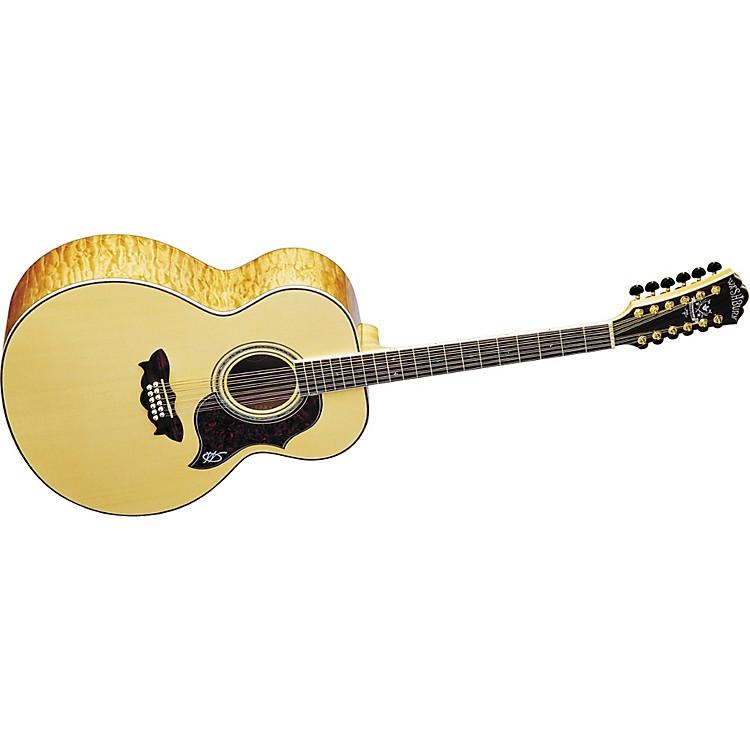 WashburnJ28SDL 12-String Cumberland Maple Jumbo Acoustic Guitar