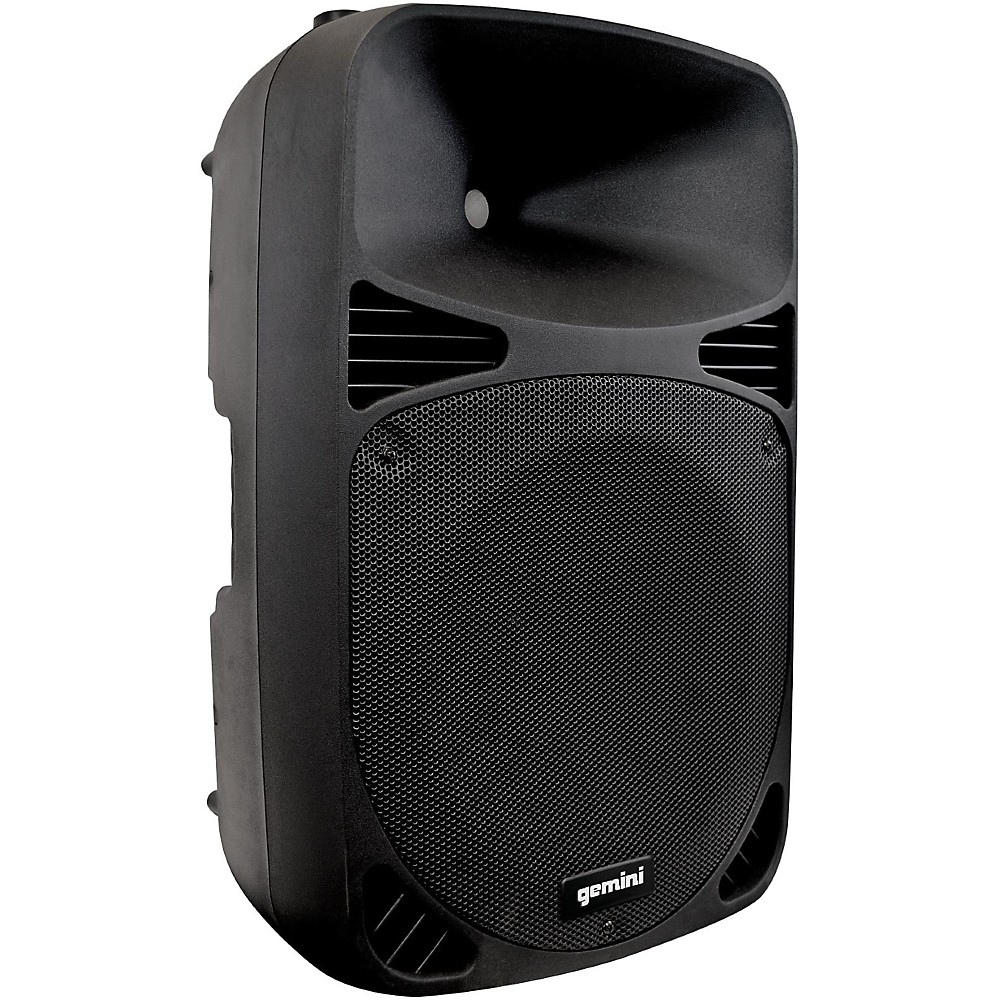 gemini hps 12blu 12 d class powered speaker with bluetooth ebay. Black Bedroom Furniture Sets. Home Design Ideas