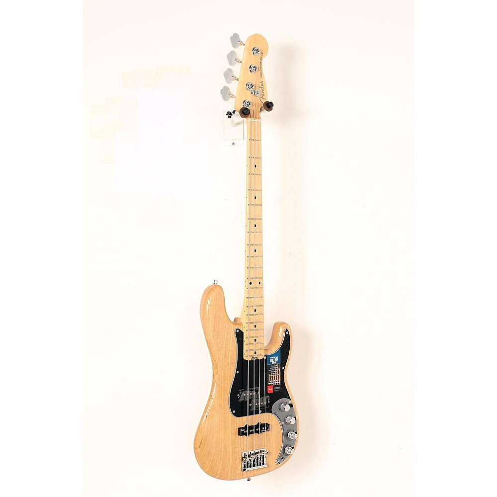 Used Fender American Elite Maple Fingerboard Precision Bass Natural 190839072689 -  USED005008 0196902721