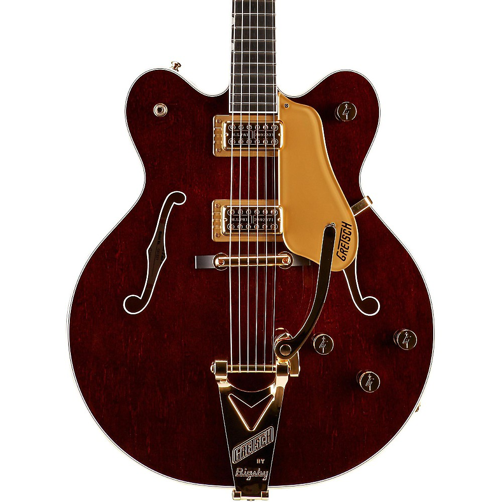 gretsch g6122t country gent with bigsby hollowbody electric guitar walnut ebay. Black Bedroom Furniture Sets. Home Design Ideas