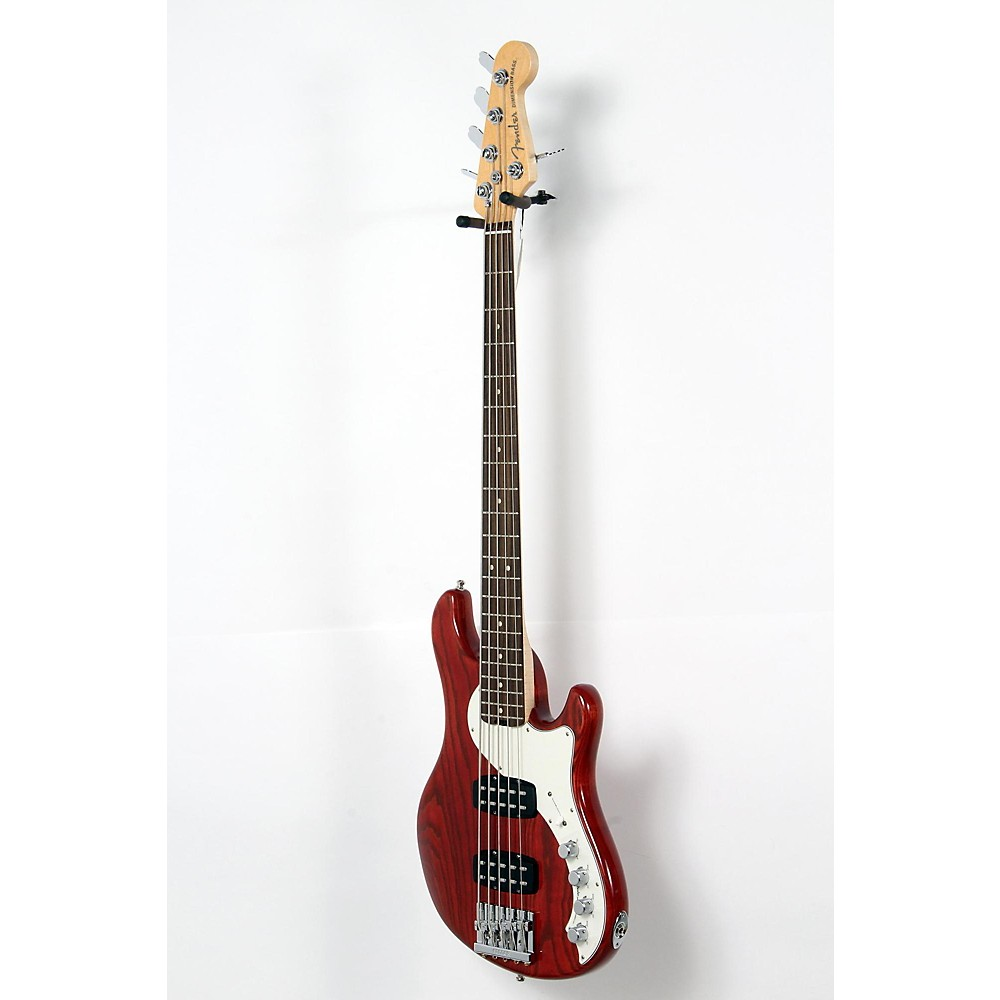 Used Fender American Elite Dimension Bass V Hh, Rosewood, Electric Bass Guitar Cayenne Burst 190839029492 -  USED005001 0193000728