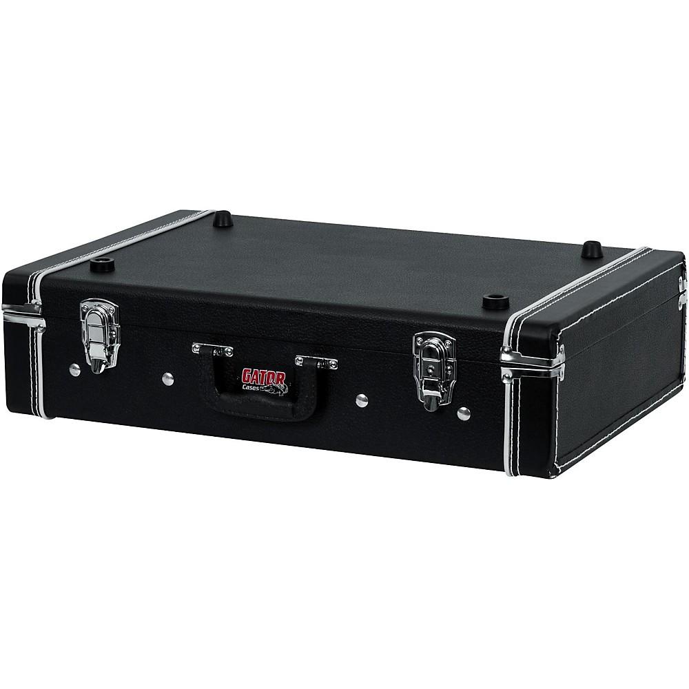 gator gig box jr pedal board guitar stand case black ebay. Black Bedroom Furniture Sets. Home Design Ideas