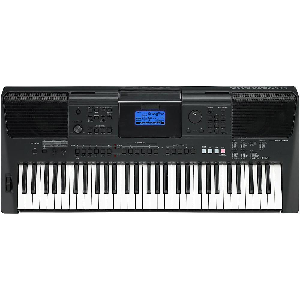 yamaha psr e453 61 key high level portable keyboard ebay. Black Bedroom Furniture Sets. Home Design Ideas