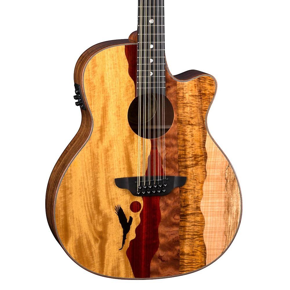Eagle Brand Electric Guitar : luna guitars vista eagle 12 string acoustic electric guitar natural ebay ~ Hamham.info Haus und Dekorationen