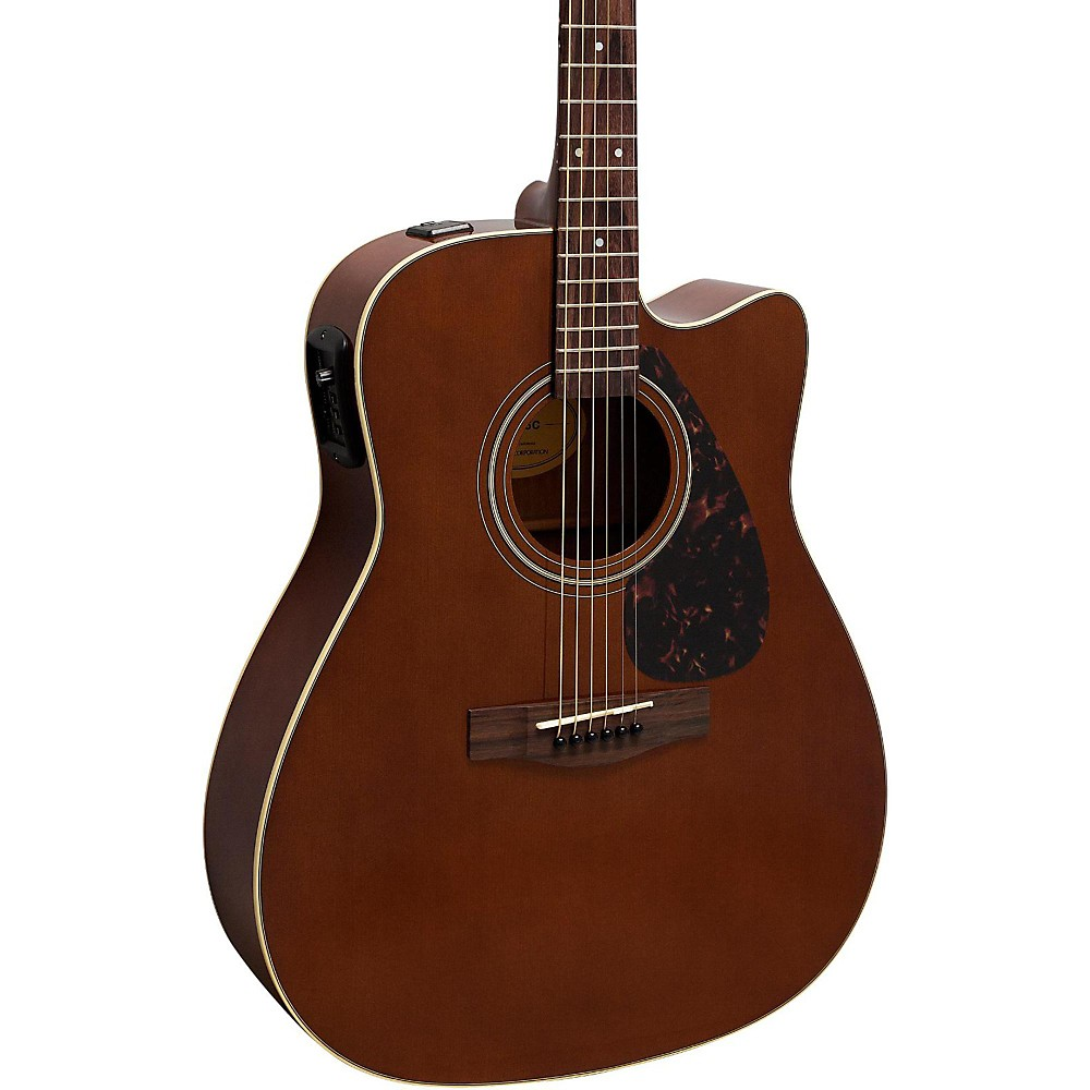 yamaha fx370c acoustic electric guitar dark tinted natural 86792840260 ebay. Black Bedroom Furniture Sets. Home Design Ideas