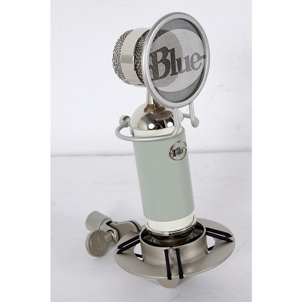Used Blue Spark Cardioid Condenser Microphone Sage Green  888366001615 -  USED005004 0724