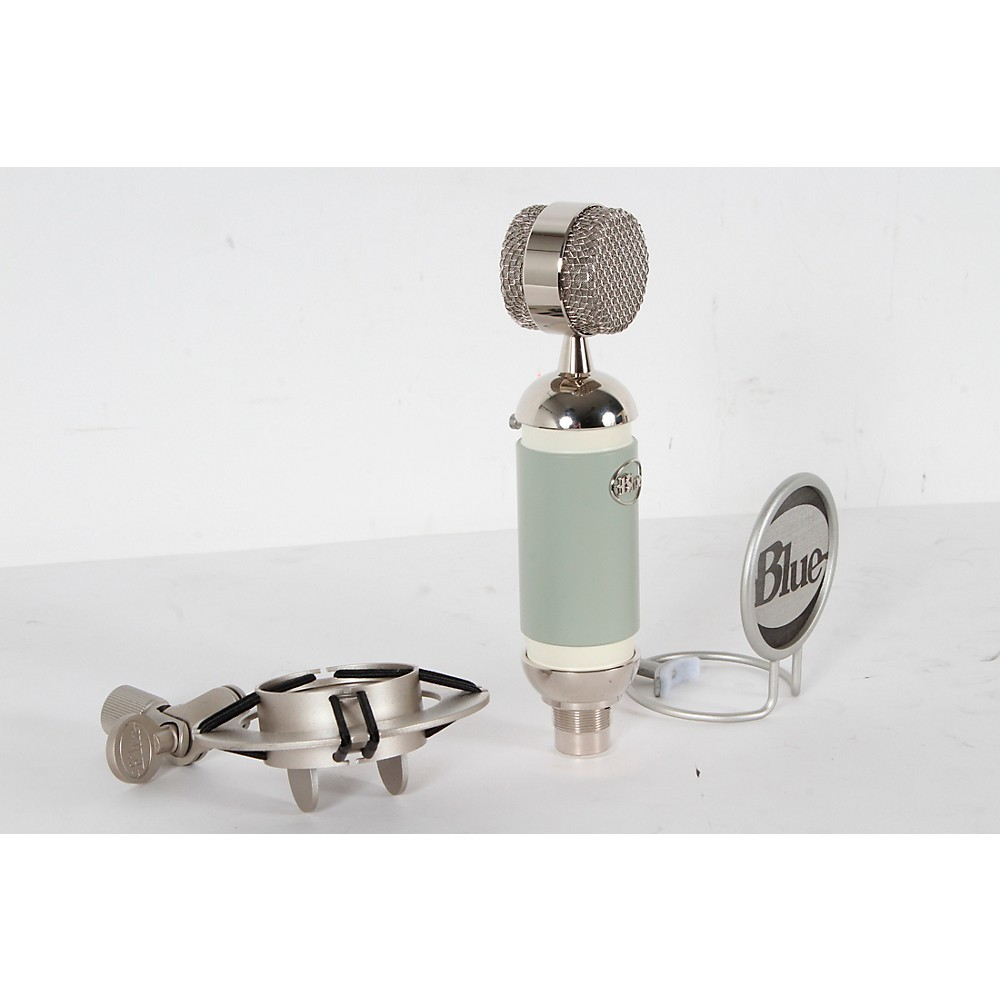 Used Blue Spark Cardioid Condenser Microphone Sage Green Regular 888366013199 -  USED006006 0724
