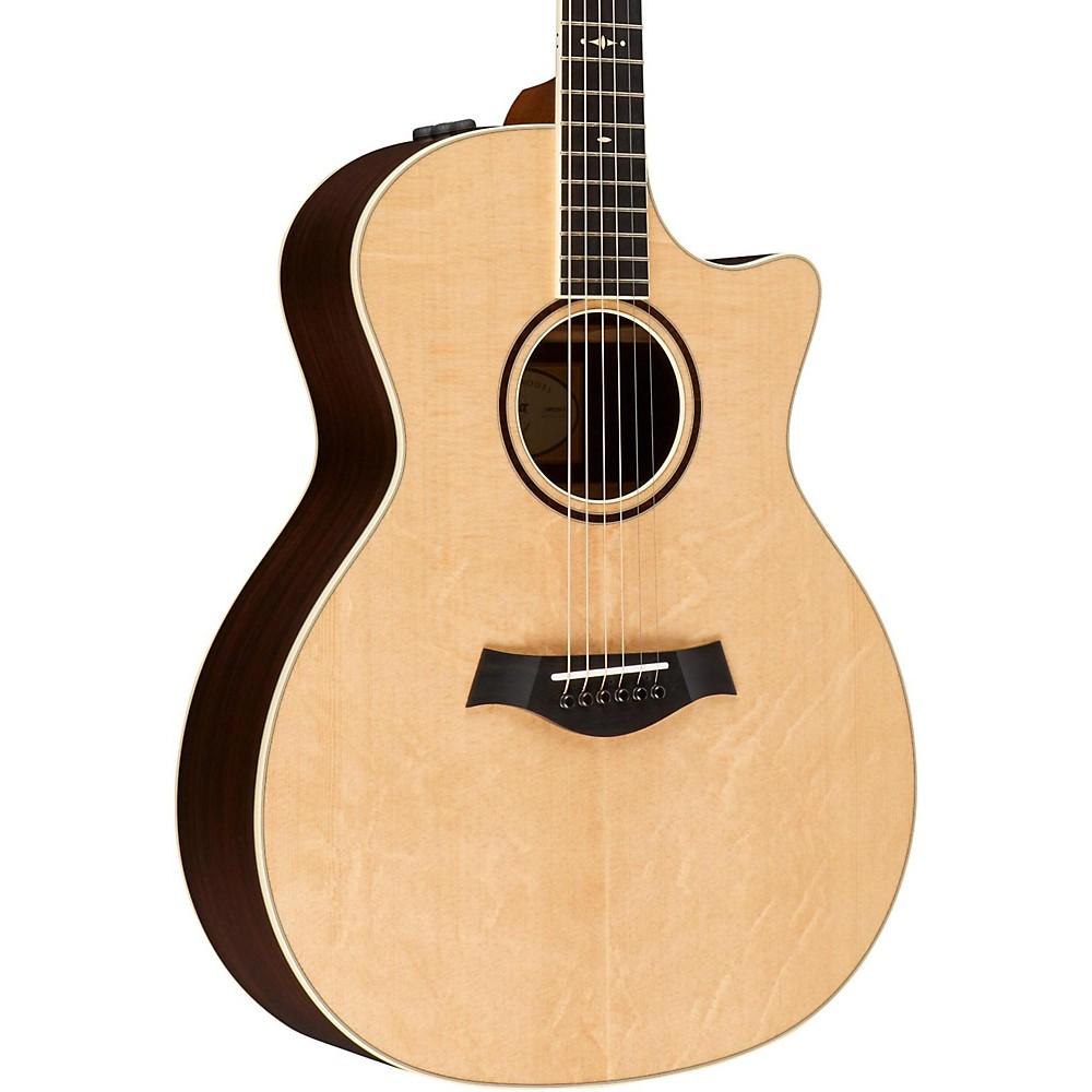 taylor custom grand auditorium 9731 acoustic electric guitar natural. Black Bedroom Furniture Sets. Home Design Ideas
