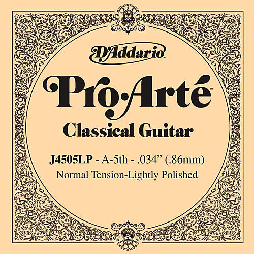 D'Addario J45 A-5 Pro-Arte Composites Normal LP Single Classical Guitar String-thumbnail