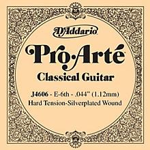 D'Addario J46 E-6 Pro-Arte SP Hard Single Classical Guitar String