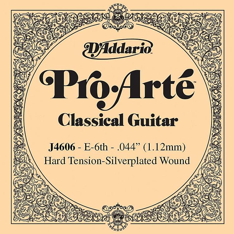 D'AddarioJ46 E-6 Pro-Arte SP Hard Single Classical Guitar String