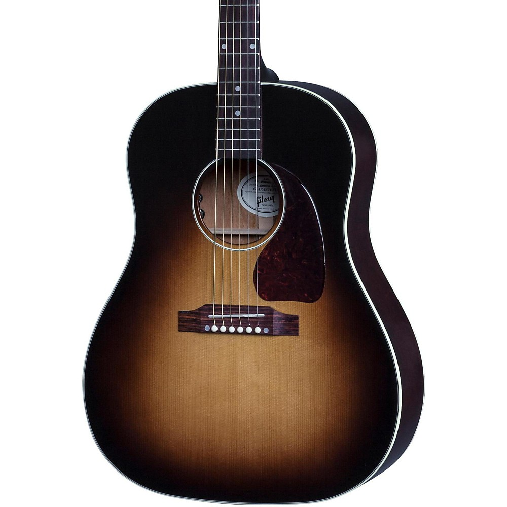 Gibson 2017 J-45 Standard Slope Shoulder Dreadnought Acoustic-Electric Guitar Vintage Sunburst