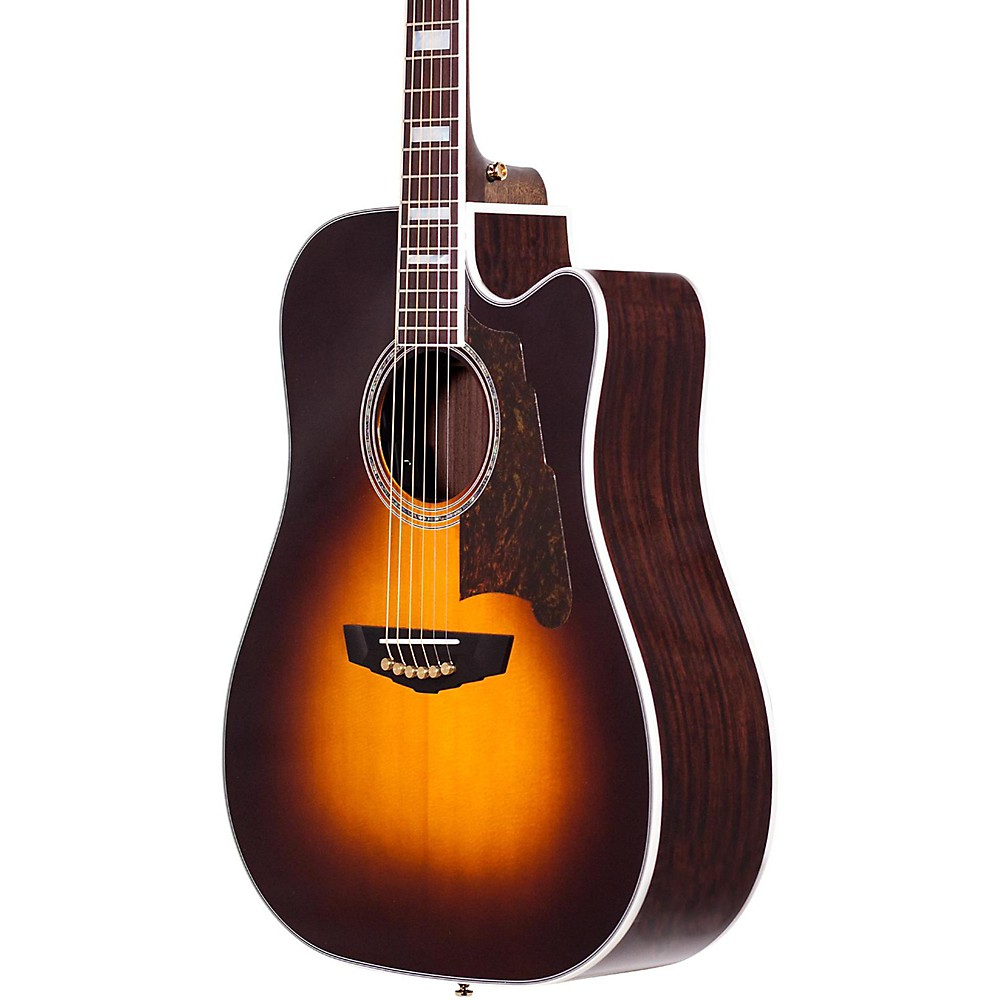 D'Angelico Excel Bowery Acoustic-Electric Guitar Sunburst