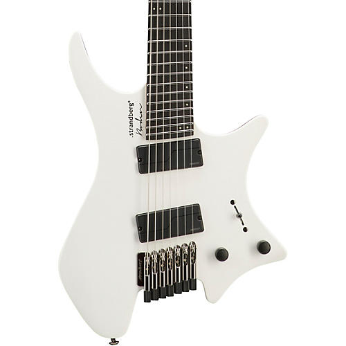 Strandberg Boden Metal 7 Electric Guitar White Pearl
