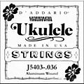 D'Addario J5403 Aluminum Wound Single Ukulele String  Thumbnail