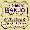 D'Addario J57 5-String Banjo Strings  Thumbnail