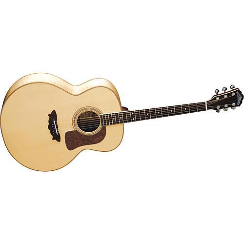 washburn j58sw timbercraft maple jumbo acoustic guitar w case musician 39 s friend. Black Bedroom Furniture Sets. Home Design Ideas