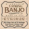 D'Addario J61 5-String Banjo Strings thumbnail