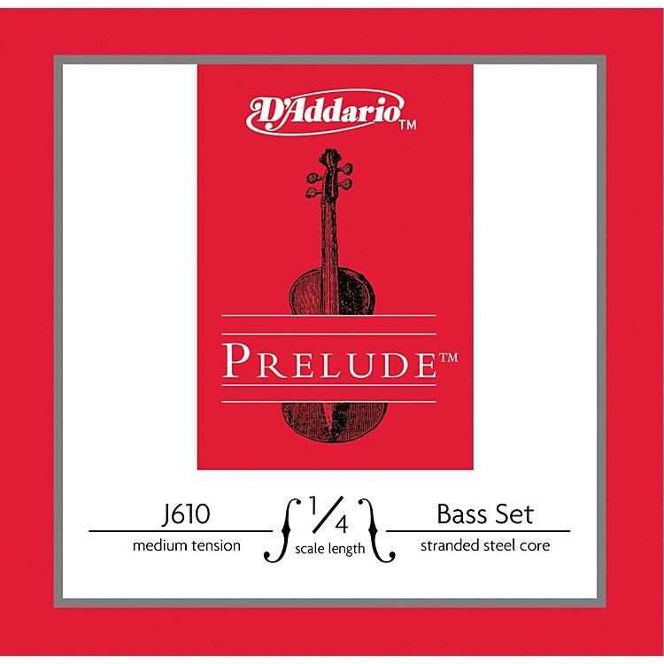 D'AddarioJ610 Prelude 1/4 Bass String SetMedium