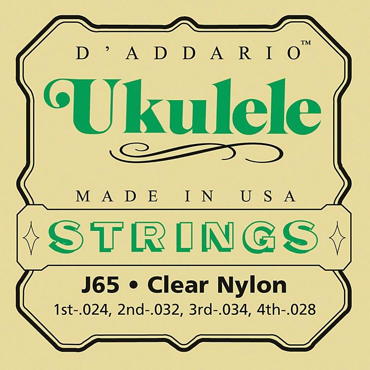 D'AddarioJ65 Nylon Ukulele Strings