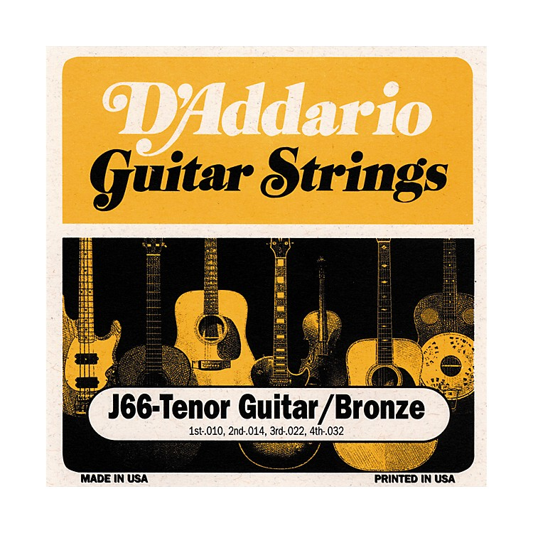 D'Addario J66 80/20 Tenor Guitar Strings