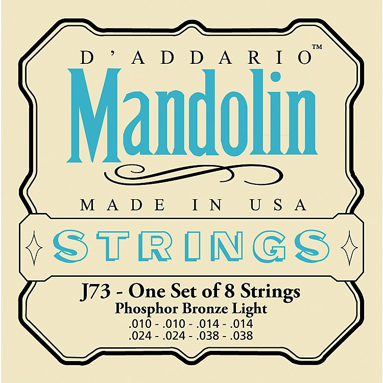 D'Addario J73 Phosphor Bronze Light Mandolin Strings