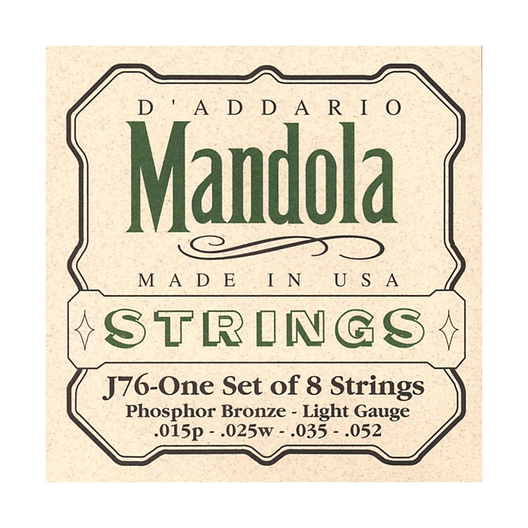 D'Addario J76 Mandola PB Light Mandolin Strings