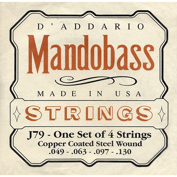 D'AddarioJ79 Mandobass Copper String Set